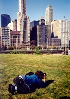 in Chicago, 1994 (Foto von George McCullogh)